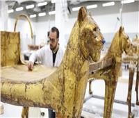 فيديو| «الآثار»: ترميم أكثر من 45 الف قطعة بالمتحف المصري الكبير