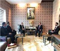 هورامي وحارس يناقشان توطيد العلاقاتالمصرية الكردية
