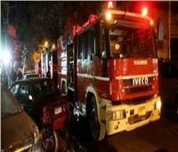المعمل الجنائى يبحث عن أسباب حريق داخل أحد الفنادق بمطار القاهرة