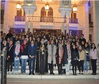 وزارة الهجرة تنظم لقاءً لوفد من شباب المصريين بالخارج مع البابا تواضروس