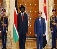 انفوجراف| العلاقات المصرية الجنوب سودانية