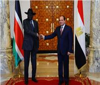 سيلفا كير يشيد بجهود مصر والرئيس السيسي لتعزيز السلام بجنوب السودان