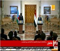 بث مباشر| مؤتمر صحفي للرئيس السيسي ورئيس جنوب السودان