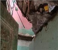 انهيار جزئي لعقار بحي دار السلام أثناء التنقيب عن آثار