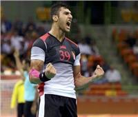 مونديال اليد| يحيى الدرع يفوز بـ«رجل مباراة» مصر وأنجولا