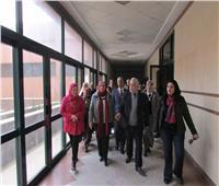 افتتاح عيادة للتأمين الصحي داخل أكاديمية الفنون بالجيزة
