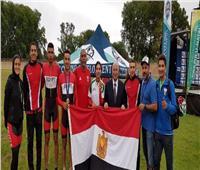 المنتخب المصري للدراجات يحصد 6ميداليات في يوم واحد