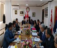 الزراعة: وضع خطط مشتركة لتنمية الاستزراع السمكي بين مصر و تونس