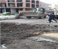تنفيذ 13 إزالة فورية وتحرير 137 محضر إشغالات بأسيوط