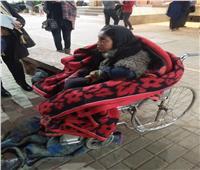 بالصور| التضامن وفريق التدخل السريع ينقذان «فاطمة» من البرد