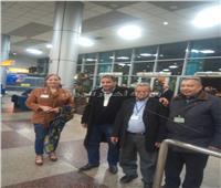 مطار القاهرة يستقبل ثاني رحلات الخطوط الكورية