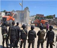 استرداد 33 فدانا من أراضى أملاك الدولة بالشرقية