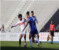 انطلاق مباراة الزمالك واتحاد طنجة المغربي في الكونفدرالية