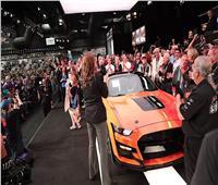 صور| مزاد سيارة فورد موستانج شيلبي GT500 يتخطى المليون دولار