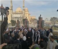 صور| وصول «جمعة» وضيوف مؤتمر الشئون الإسلامية لافتتاح أكاديمية الأوقاف