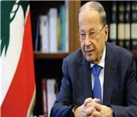 الرئيس اللبناني: يطالب بـ«عودة آمنة» للاجئين السوريين