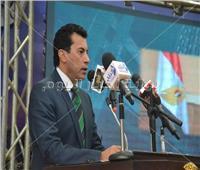 وزير الرياضة: نتعاون مع محافظة السويس وجهاز دعم المشروعات لتنفيذ أفكار الشباب