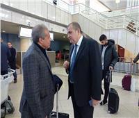 السفير المصري بالجزائر يودِّع بعثة الأهلي قبل العودة للقاهرة