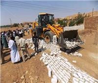 محافظ أسوان: تنفيذ 8 قرارات إزالة تعديات على الأراضي الزراعية