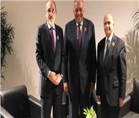 اجتماع ثلاثي «مصري أردني عراقي» على هامش قمة بيروت