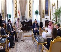 رئيس الوزراء يلتقي الرئيس التنفيذي لشركة كي بي دبليو للاستثمار