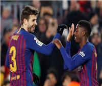 «ديمبلي» يمنح برشلونة التقدم على ليجانيس في الشوط الأول
