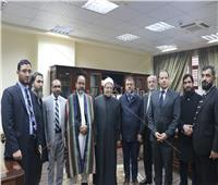 صور| شوقي علام يعلن التعاون في إنشاء دار الإفتاء الأفغانية
