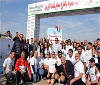 وزيرة الهجرة تشارك في «ماراثون خيري» مع شباب المصريين بالخارج