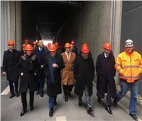 بالصور| «العصار» ووزيرا التنمية المحلية والبيئة يتفقدون شركة «BSR» الألمانية