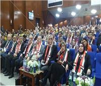 رئيس جامعة المنوفية يشهد فعاليات المؤتمر الدولي لتطوير التعليم العالي