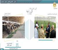 إنجازات مصر في مجال الزراعة تحقق 3.8 مليار جنيه