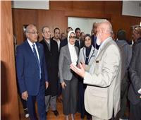 وزيرة الصحة تشيد بخدمات مستشفى «هيئة قناة السويس»