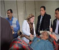 محافظ الغربية يوجه بنقل مواطن «بلا مأوى» لمستشفى المنشاوي