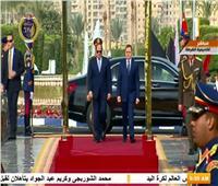 شاهد| لحظة وصول الرئيس السيسي للمشاركة في الاحتفال بعيد الشرطة الـ 67