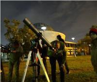 رصد الخسوف الجزئي للقمر بمتحف الطفل لتنمية الثقافة الفلكية