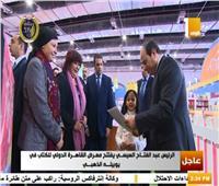 فيديو| عبد الدايم: افتتاح الرئيس السيسي لمعرض الكتاب يعكس اهتمامه بالثقافة