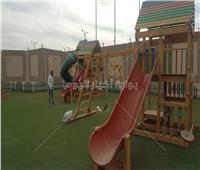 صور| حديقة ألعاب للأطفال في اليوبيل الذهبي لمعرض الكتاب