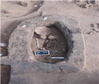 العثور على مقابر ترجع إلى عصور مختلفة بموقع كوم الخلجان| صور
