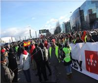 احتجاجات واسعة في مدريد بسبب شركة «أوبر» .. تعرف على السبب