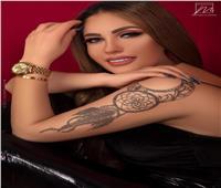 صور| إطلالة جديدة لـ«مي صالح» بـ«بدي أسود وبنطلون جلد»