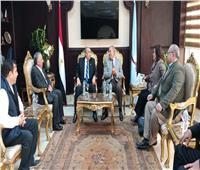 وزير الزراعة يبحث مع محافظ البحر الأحمر زيادة فرص التعاون لتحقيق التنمية المستدامة