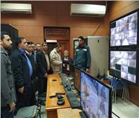 «رسلان» يهنئ قيادات شرطة السكة الحديد بعيدهم خلال تفقده محطة مصر
