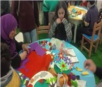 صور| جناح الطفل الأكثر إقبالا في اليوم الثاني لمعرض الكتاب