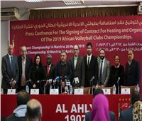 «عبدالقادر»: نتعهد بتنظيم يليق بالنادي الأهلي في بطولتي «الطائرة»