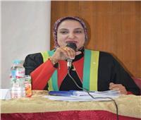 هيام شاهين مشرفا على المدن الجامعية «طالبات» بجامعة عين شمس