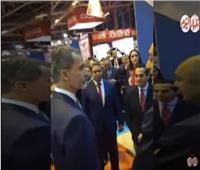 خاص بالفيديو| ملك إسبانيا يدعم الحركة السياحية المصرية