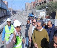 صور| عرفات يتابع تطوير محطة المرج الجديدة بتكلفة 600 مليون جنيه
