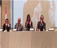 وزيرة الهجرة تستعرض مبادرة «حياة كريمة» مع الجالية المصرية في الإمارات