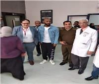 شيكابالا يزور معهد الأورام بأسوان.. ويطالب بدعمهم ماديا