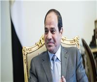 الرئيس السيسي يتسلم درع صندوق «تحيا مصر»